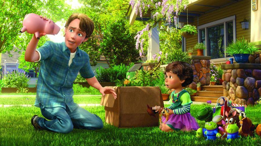 Image result for toy story 3 ending