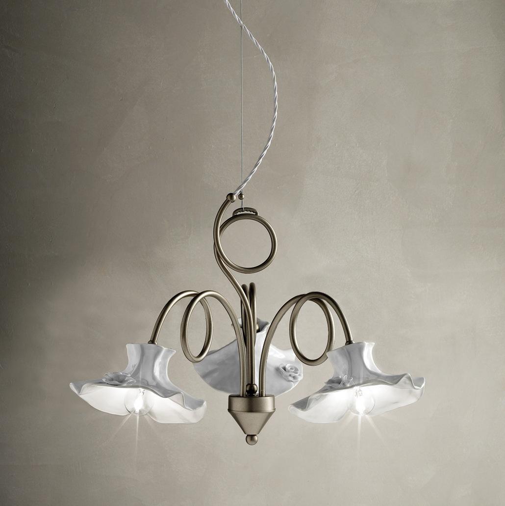 lampade a soffitto in una cameretta classica