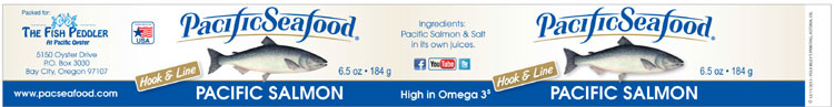 Pacific Seafood brand Pacific Salmon