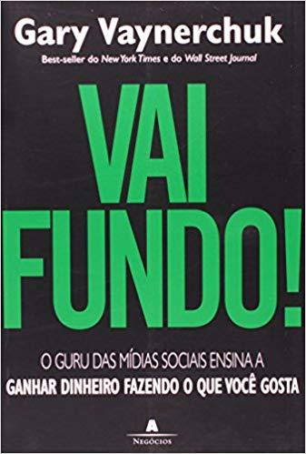 """Capa do livro """"Vai Fundo!"""""""