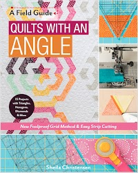 New Foolproof Grid Method & Easy Strip Cutting; 15 Projects with Triangles, Hexagons, Diamonds & More  By Sheila Christensen