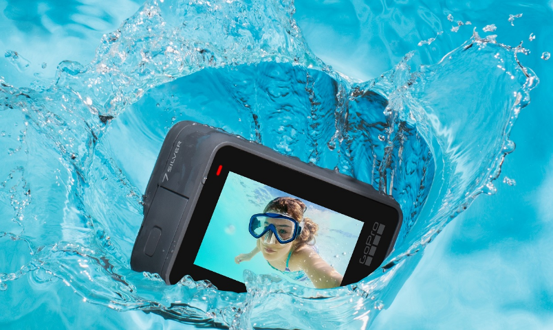 Съемка с экшн-камерой GoPro HERO7 Silver