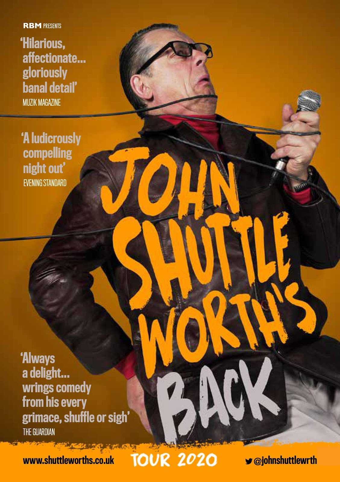 John Shuttleworth's Back //  A Brand New 2020 Tour
