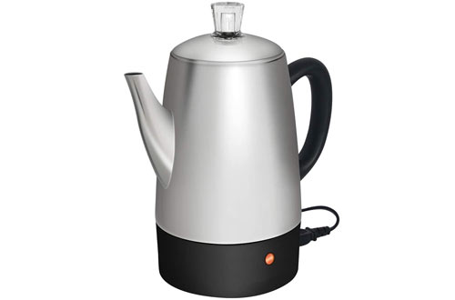 Stone & Moss Stainless Steel Percolator Electric Pot