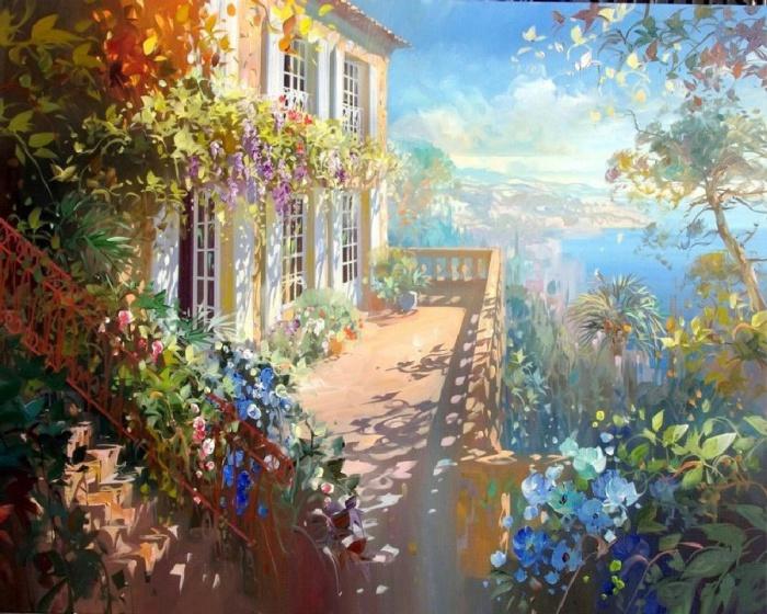 22 pinturas brillantes y coloridas por talentosos artistas contemporáneos