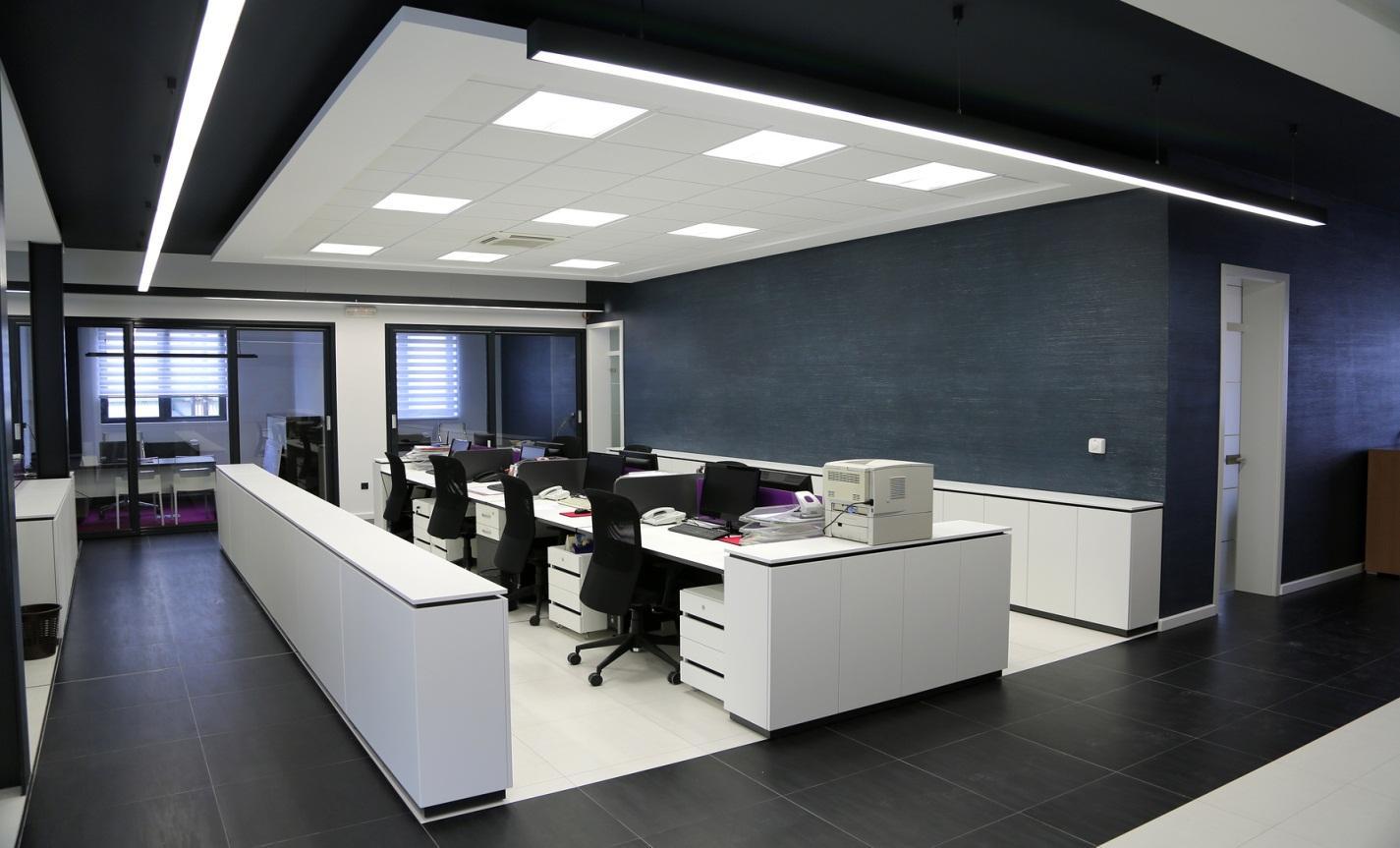 thiết kế và thi công nội thất văn phòng tại GSC Việt Nam
