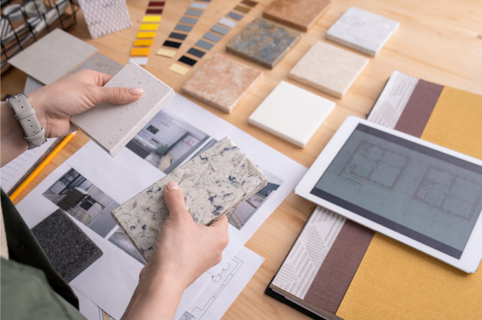 Deciding on which materials to use for your home remodel