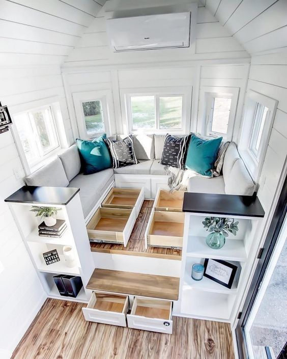 tiny house, tiny house decor ideas #tinyhouse