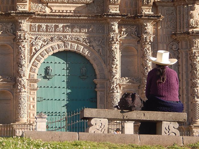 Conoce el centro de Cajamarca durante las fiestas en Perú