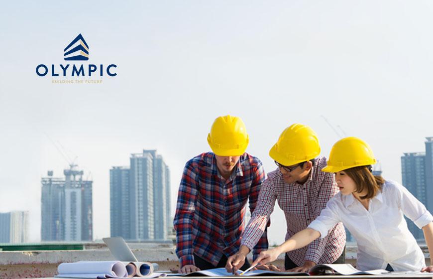 Lựa chọn tôn Olympic cho công trình