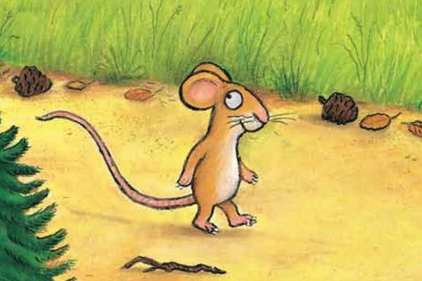 the mouse took a stroll the gruffalo