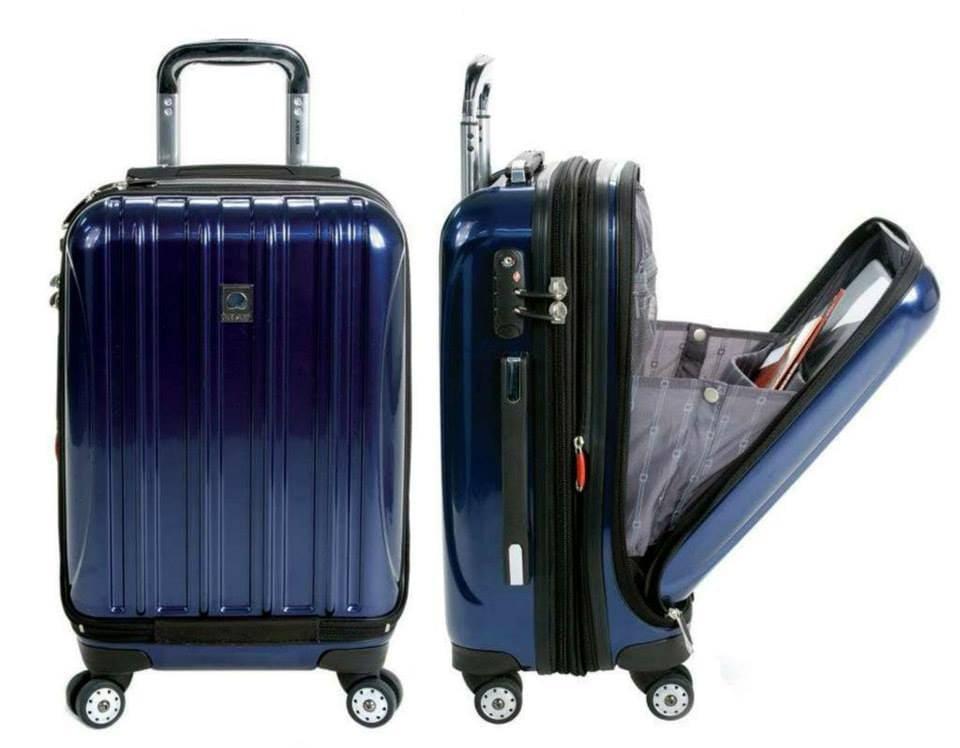 Delsey Luggage Helium Aero International Spinner Luggage Hardside