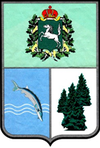 Coat of Arms of Teguldetsky district (Tomsk oblast).png