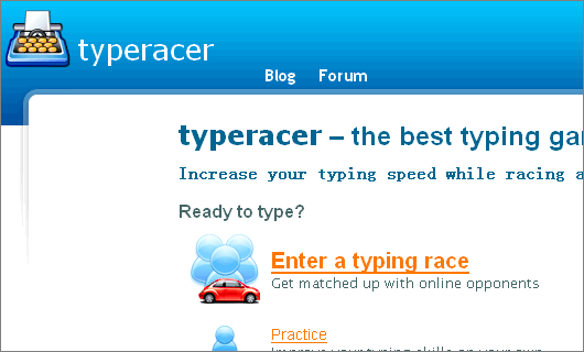 Improve typing Speed