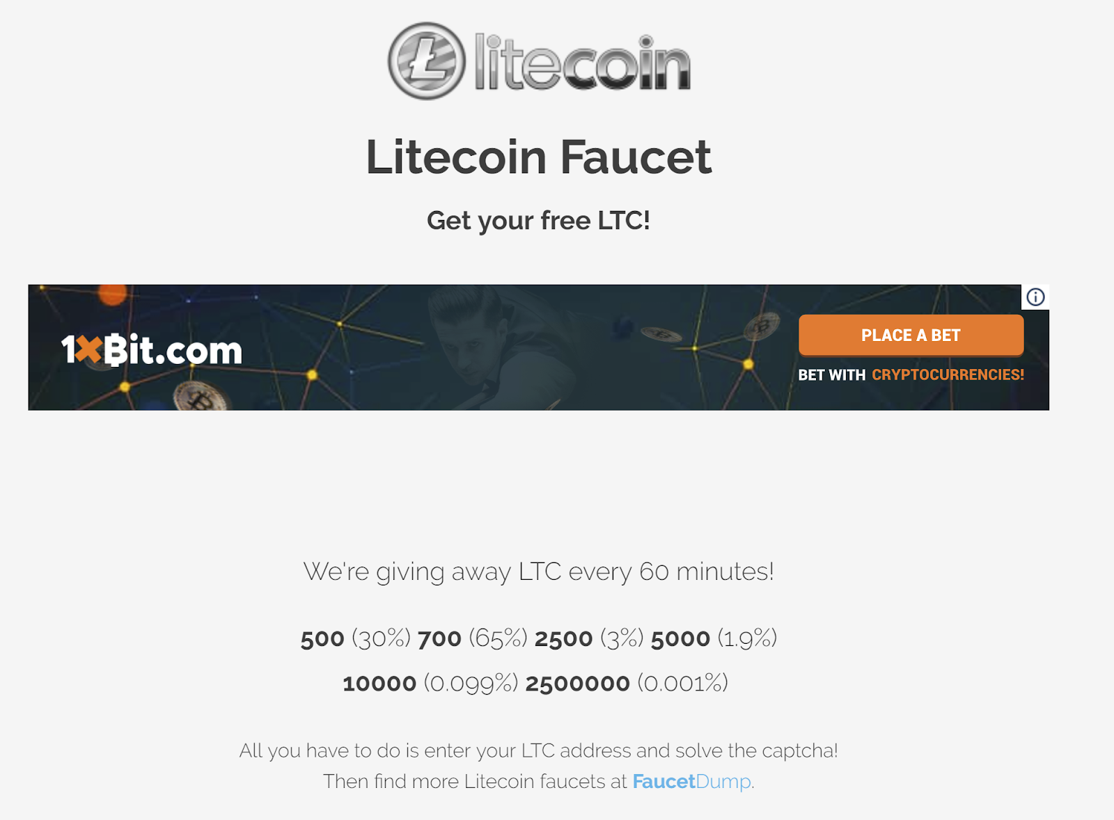 Bitcoin Faucet Instant Payout 2019 Where Does Litecoin Store Its
