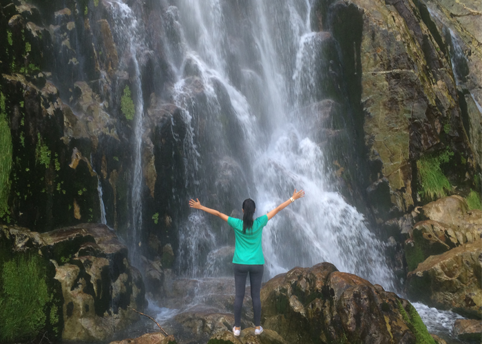 Tabayón waterfall