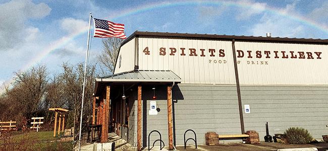 4 Spirits Distillery in Corvallis, Oregon