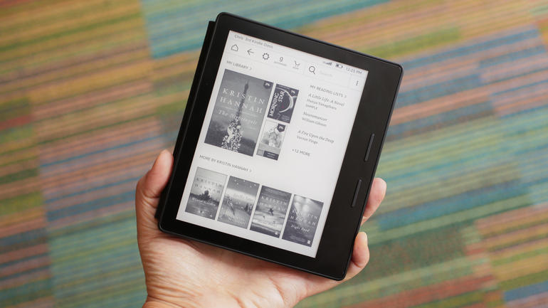 Amazon Kindle Oasis, e-reader, reader, elektronik, amazon terbaru