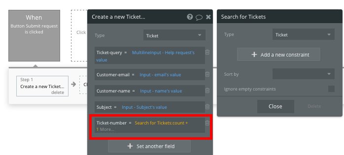 Creating a Zendesk clone unique support ticket ID