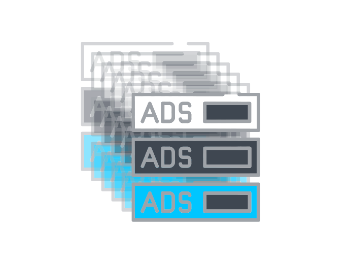 ad stacking example