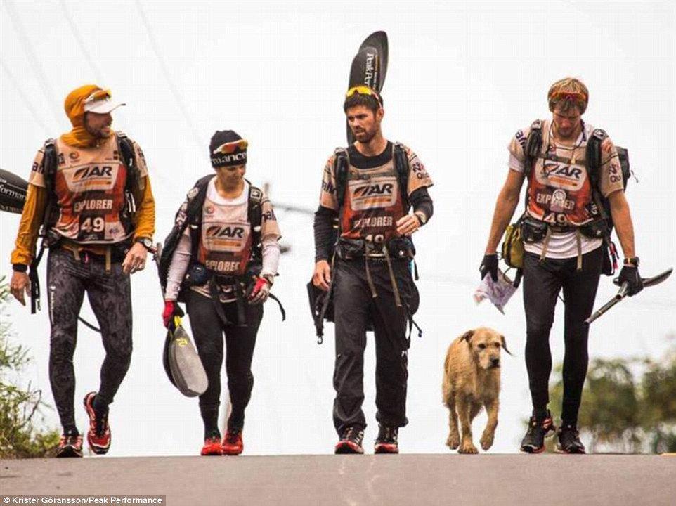 La team Peak Performance à 5 membres