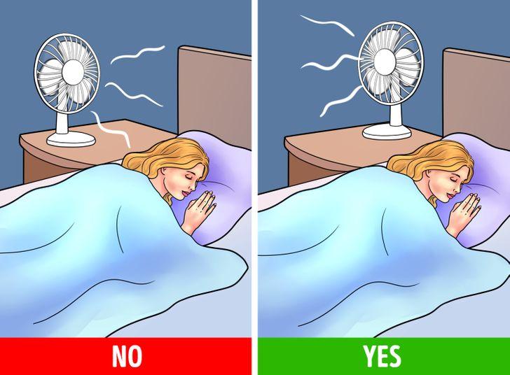 Bật quạt khi ngủ gây hại cho sức khỏe như thế nào? - Ảnh 5.