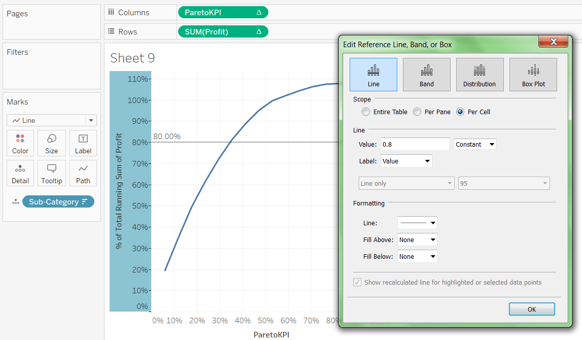 Pareto Chart In Tableau 39