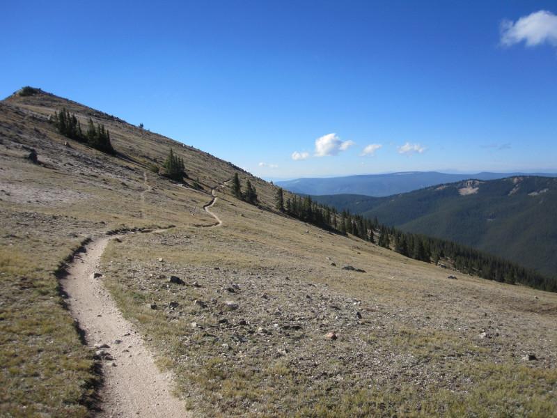 Monarch Crest Trail. Vapor Trail 125.
