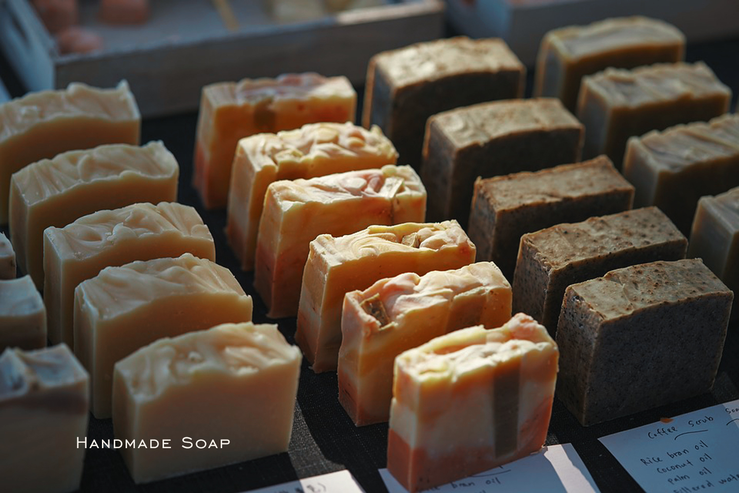 handmade soap selling