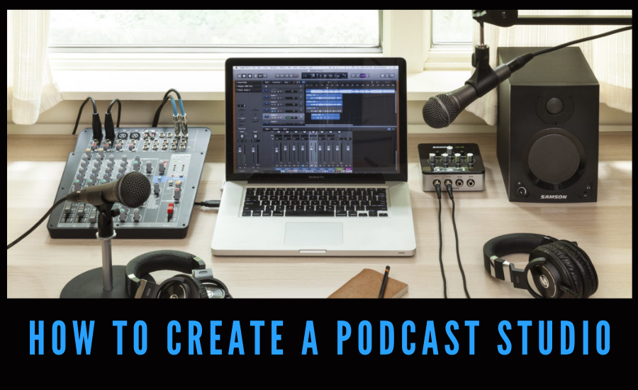 How to create a podcast studio