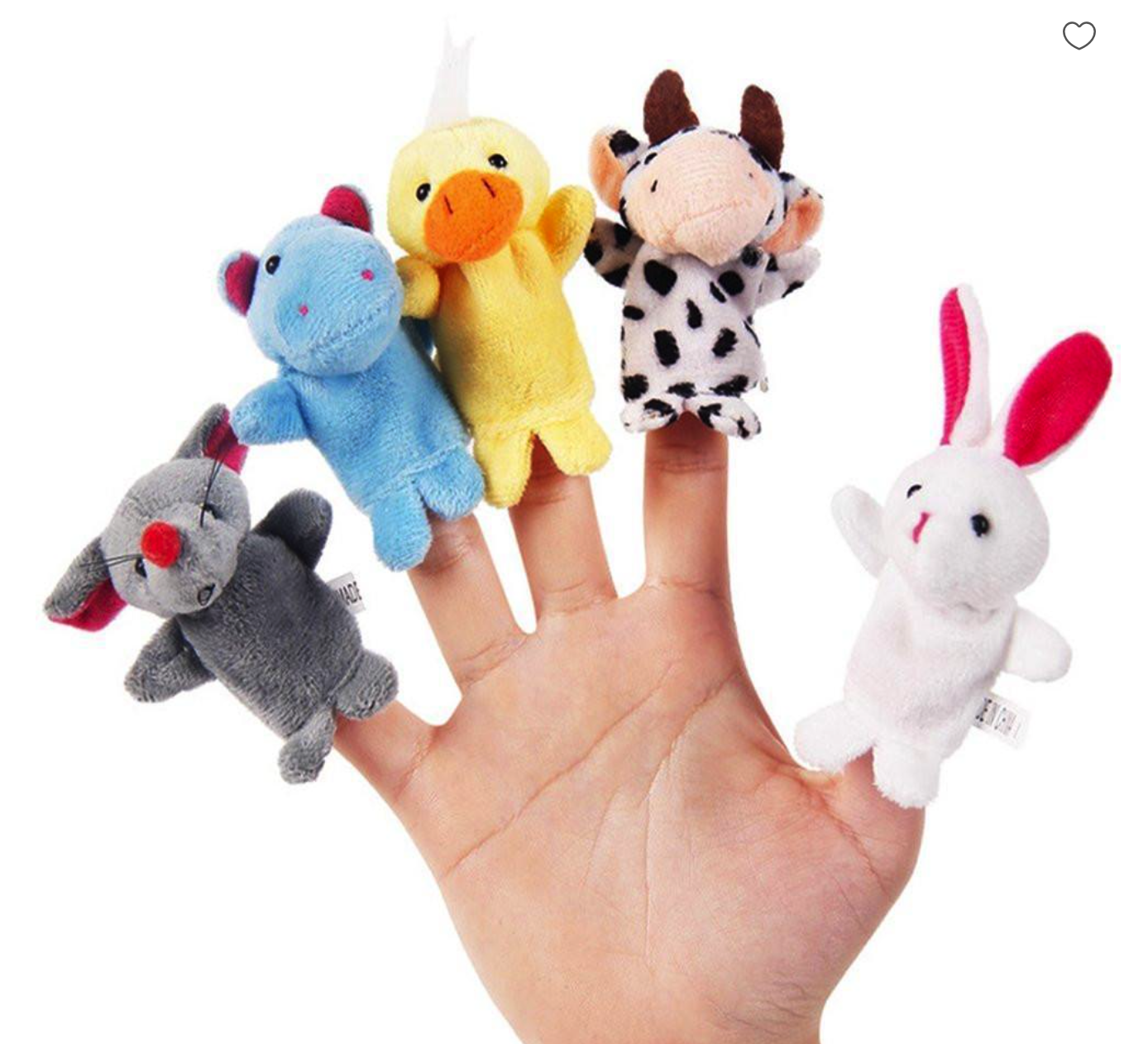 Finger puppet animals | The Quality Choice | Influencer Partnership Programs