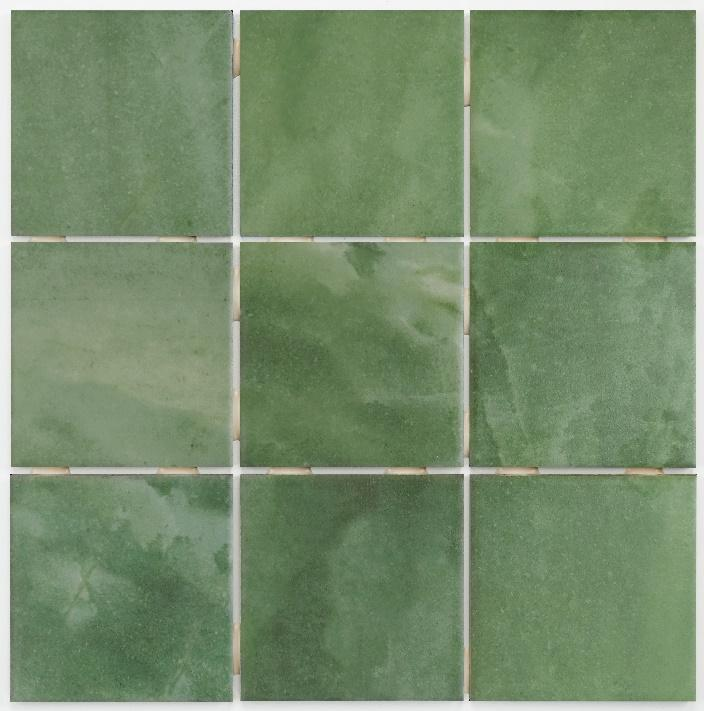 cerâmica java verde