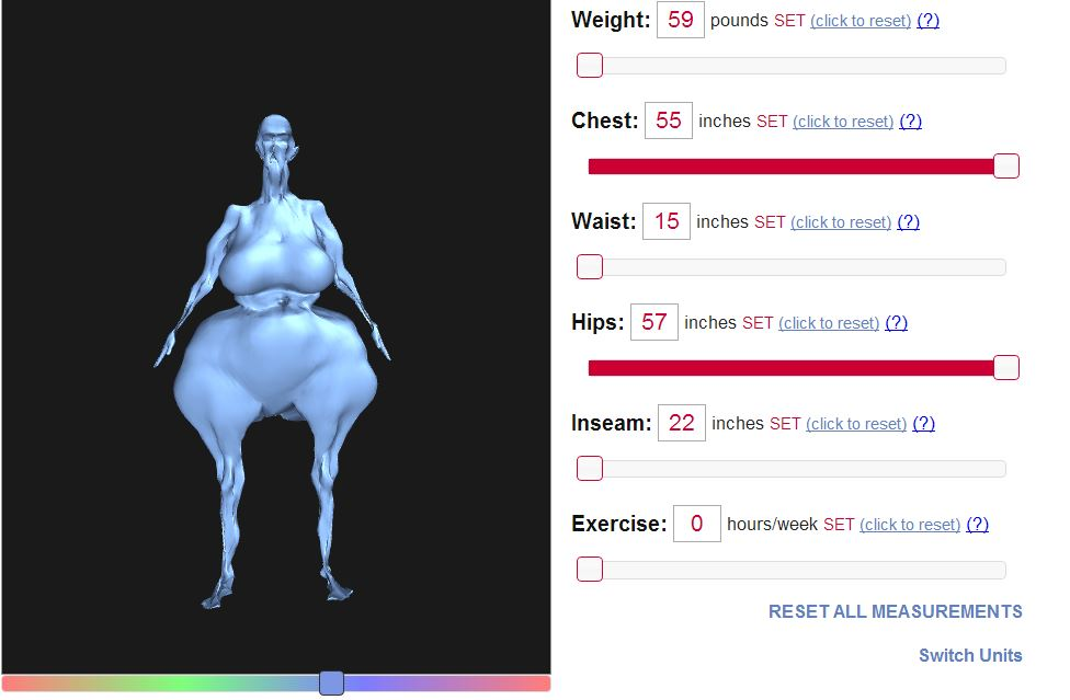 Our Body Visualizer Provides Free Simulations On Your Actual