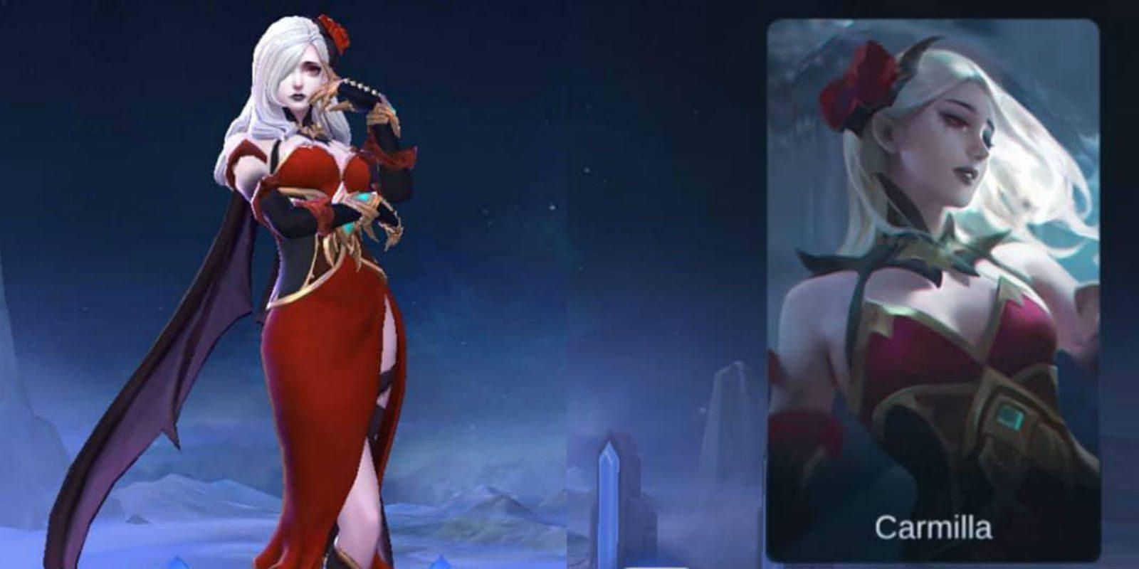 Hero Baru Carmilla Yang Akan Hadir Di Mobile Legends SPIN
