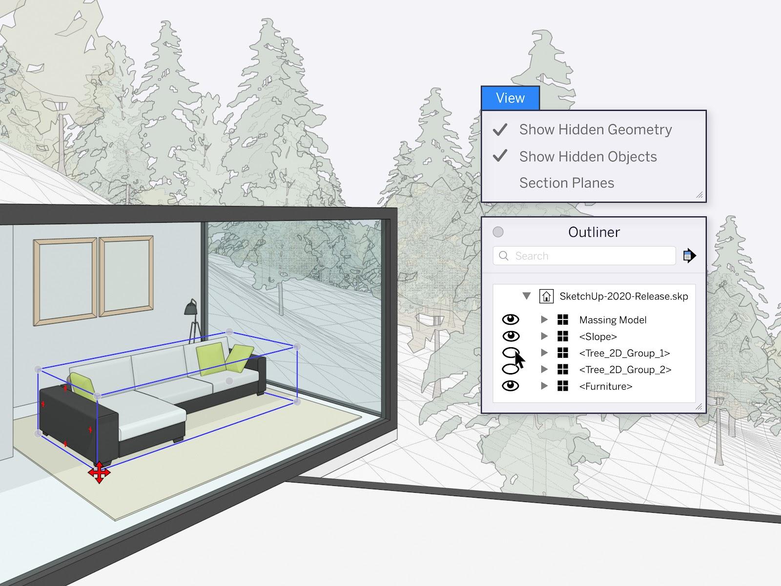 Phần mềm SketchUp Pro 2020