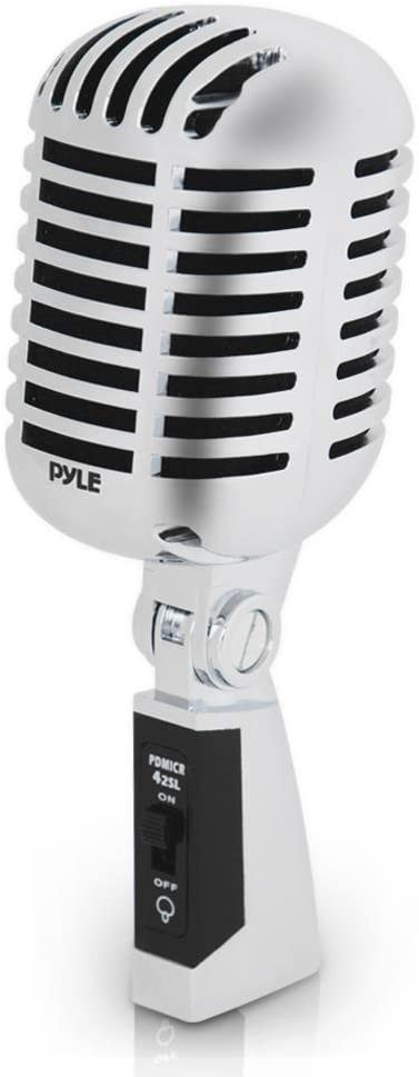 Pyle Dynamic Vocal Microphone - Best Classic Retro Microphone