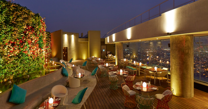 High Ultra Lounge - Date night with your love - Romantic Restaurants In Bangalore