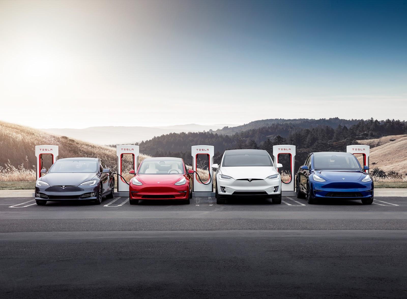 tesla-cars-charging