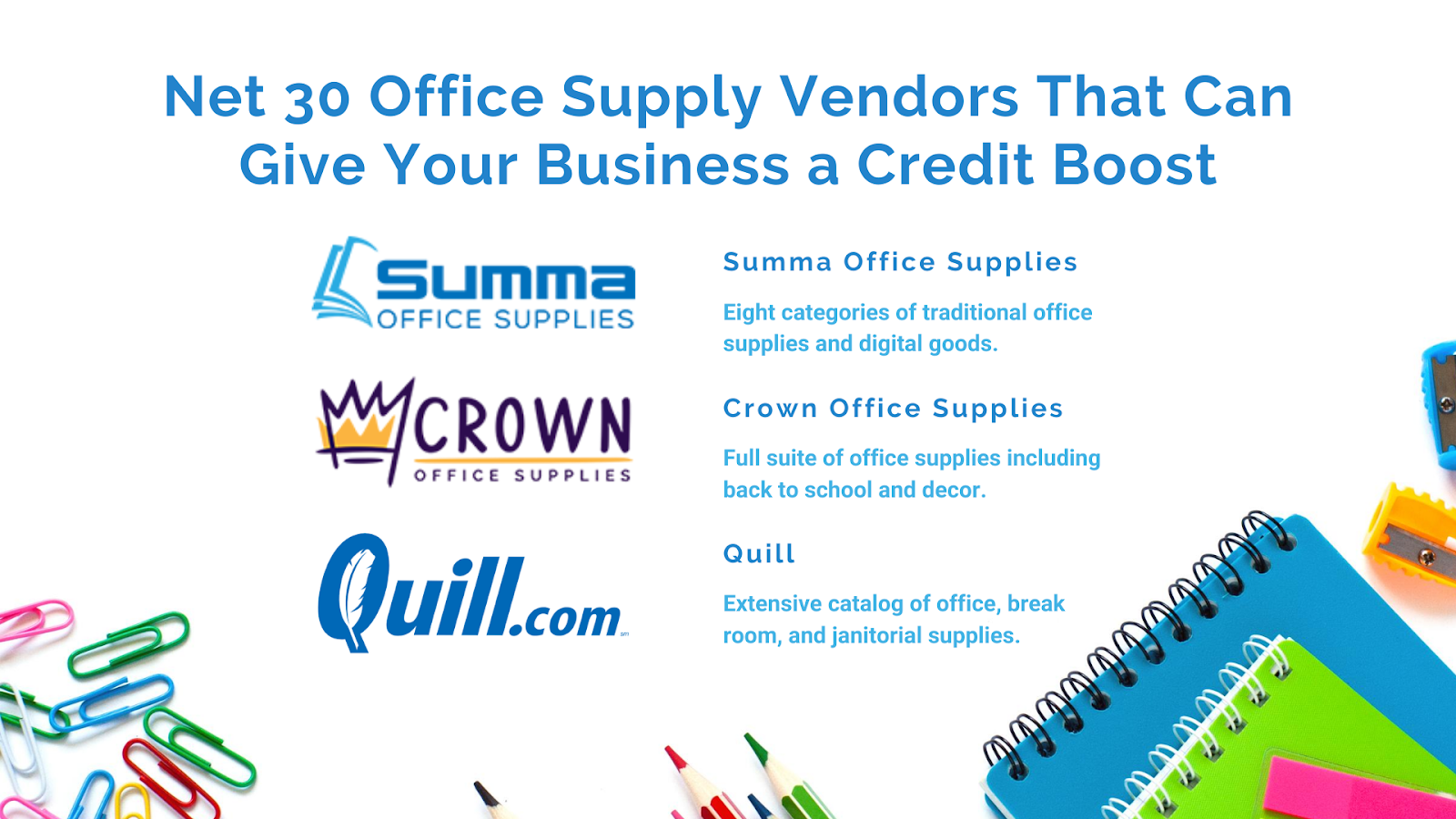 Net 30 Office Supply Stores Online
