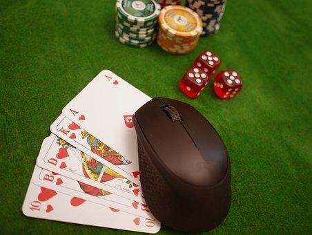 De Poker Online, Tarjetas, Fichas, Cubo