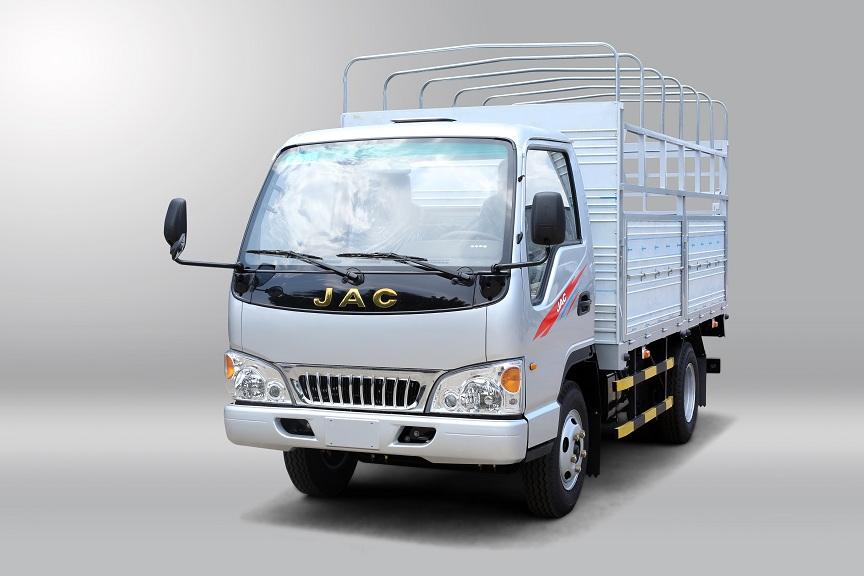 xe tải JAC 1t49 màu trắng