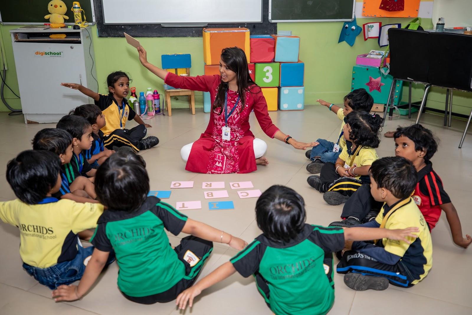 More teaching methods are explored in CBSE school