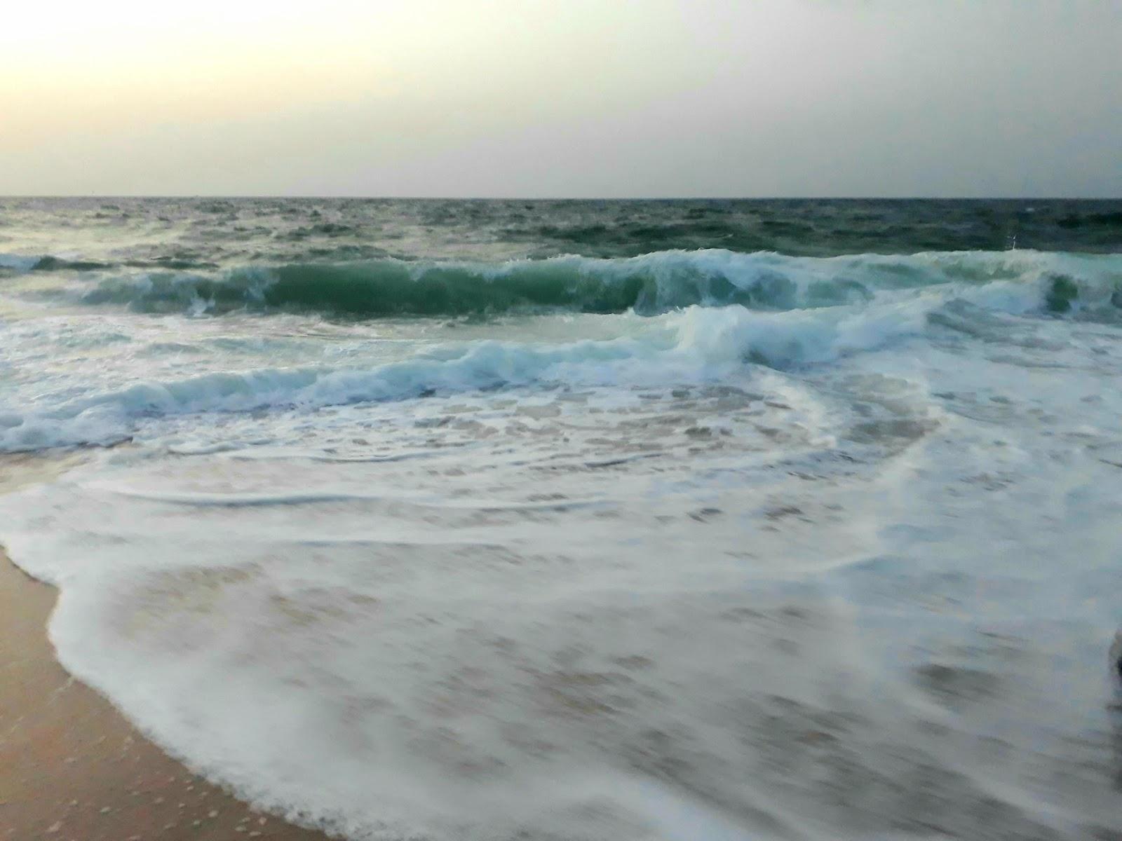 A beach in Sur, Oman