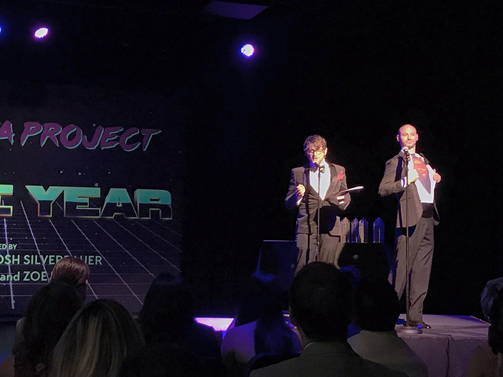 Josh Silverbauer & Pete DiLorenzo Present at the Philly Geek Awards