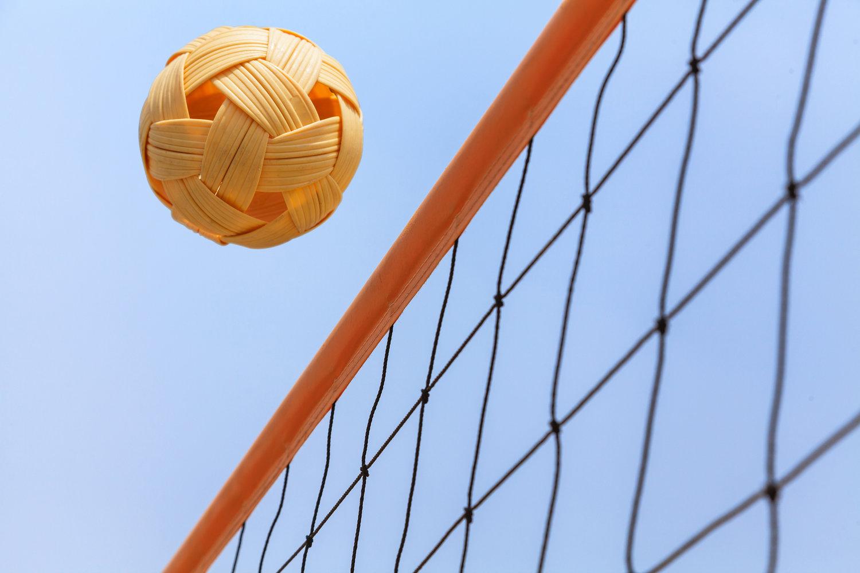 """Cầu mây có một cái gì đó liên quan đến bóng chuyền,nhiều người miêu tả nó là """"bóng chuyền đá"""