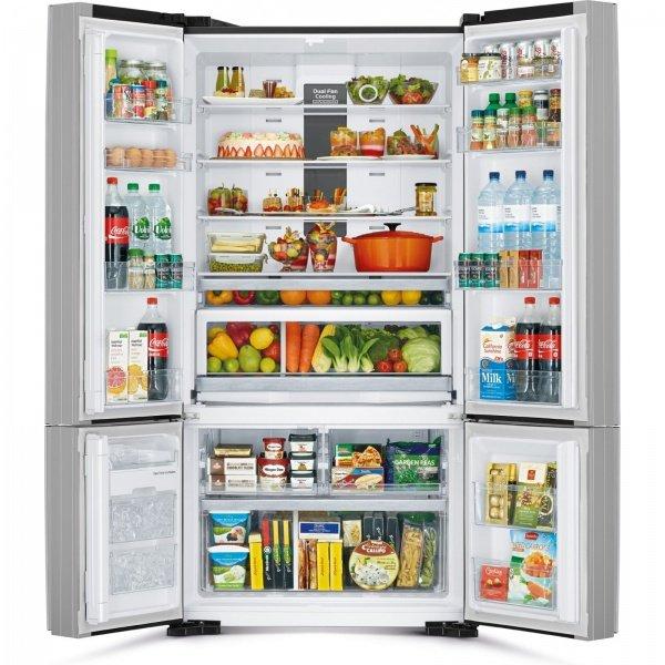 Організація внутрішнього простору холодильника Hitachi R-WB800PUC5XGR