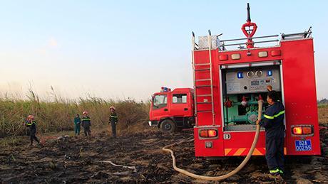 Kịp thời ngăn chặn hai vụ cháy trên địa bàn thành phố Kon Tum