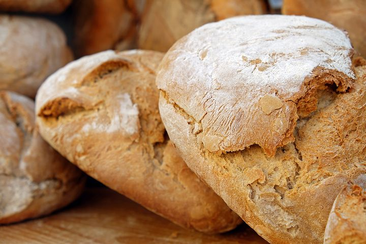 homemade bread pantry meal idea
