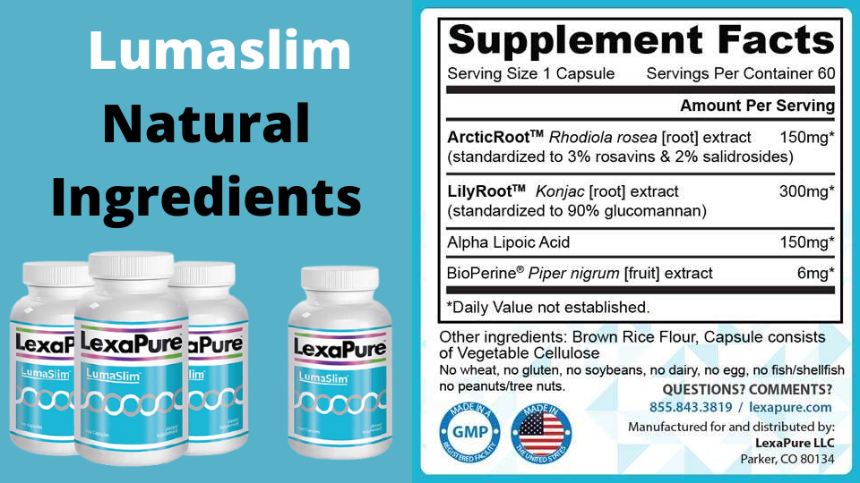 What are the ingredients in Lumaslim?