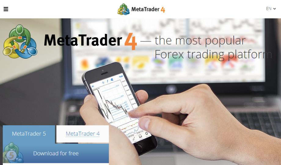 Image of MetaTrader 4 Trading Platform